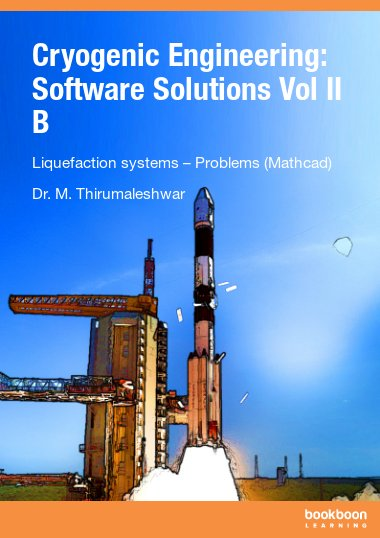 Cryogenic Engineering: Software Solutions Vol II B