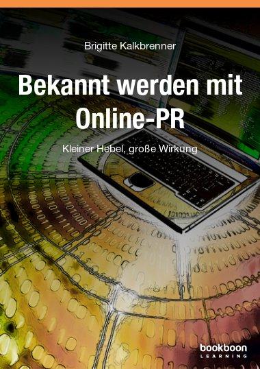 Bekannt werden mit Online-PR