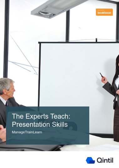 The Experts Teach: Presentation Skills