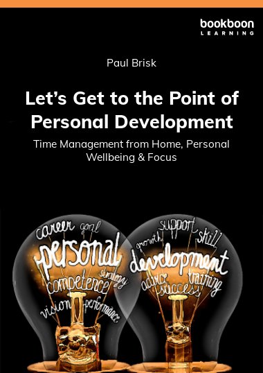 Let's Get to the Point of Personal Development