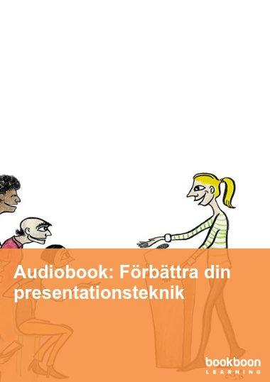 Audiobook: Förbättra din presentationsteknik
