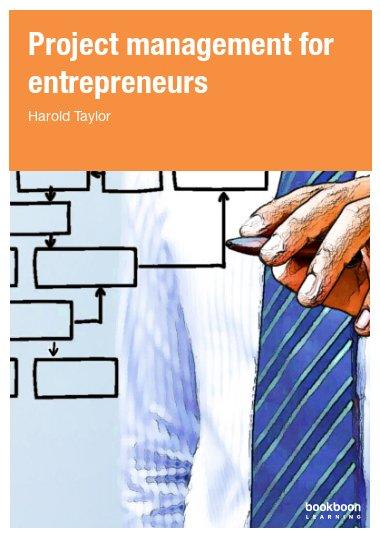 Project management for entrepreneurs