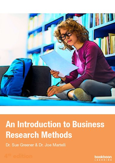 An introduction to Business Research Methods