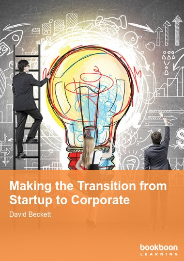 Making the Transition from Startup to Corporate