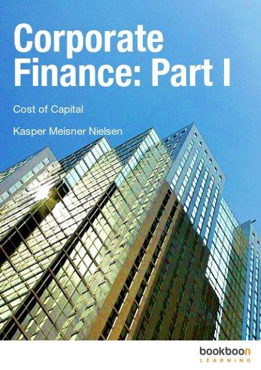 Corporate Finance: Part I