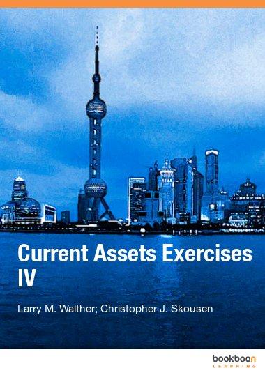 Current Assets Exercises IV