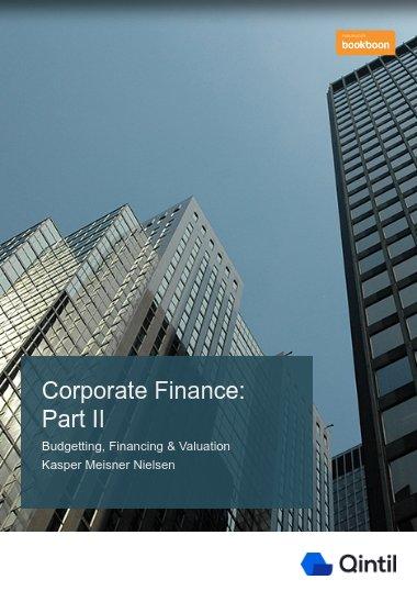 Corporate Finance: Part II
