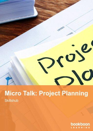 Micro Talk: Project Planning