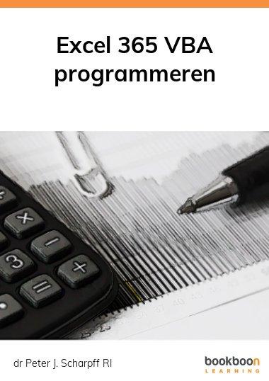 Excel 365 VBA programmeren