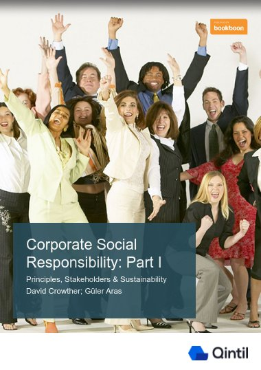 Corporate Social Responsibility: Part I