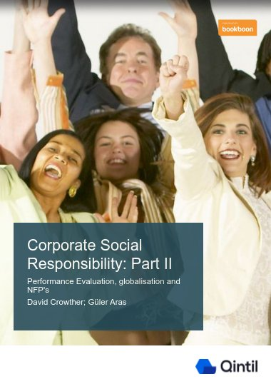Corporate Social Responsibility: Part II