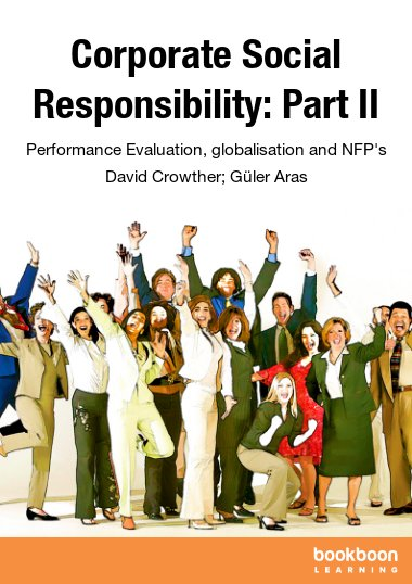 Corporate Social Responsibility: Part II