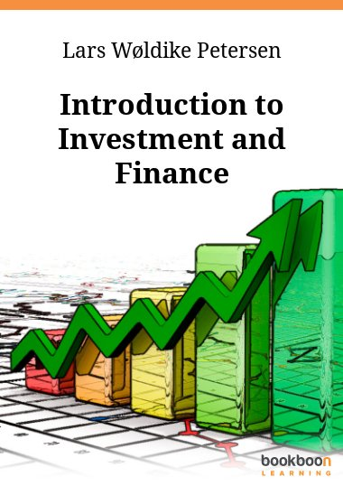 Introduction to Investment and Finance