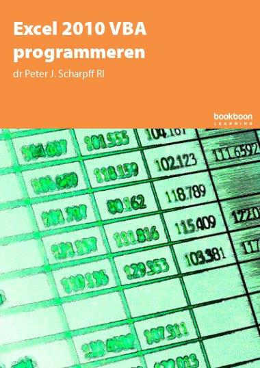 Excel 2010 VBA programmeren
