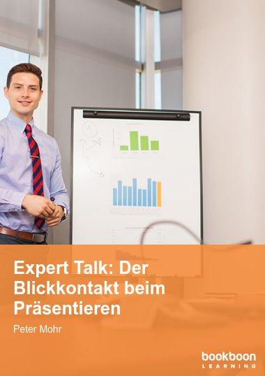Expert Talk: Der Blickkontakt beim Präsentieren