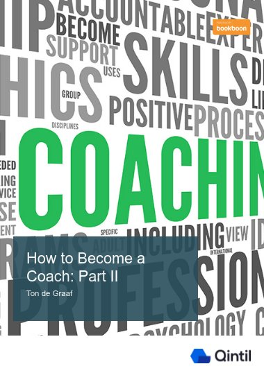 How to Become a Coach: Part II