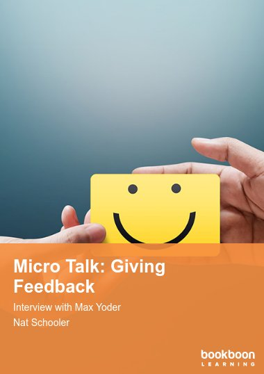 Micro Talk: Giving Feedback