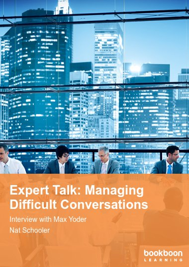 Expert Talk: Managing Difficult Conversations