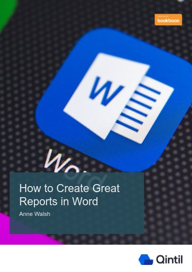 How to Create Great Reports in Word