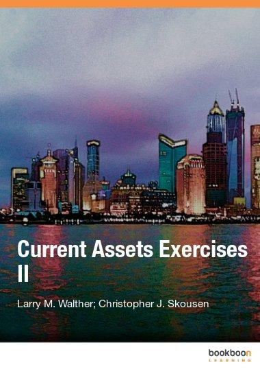 Current Assets Exercises II