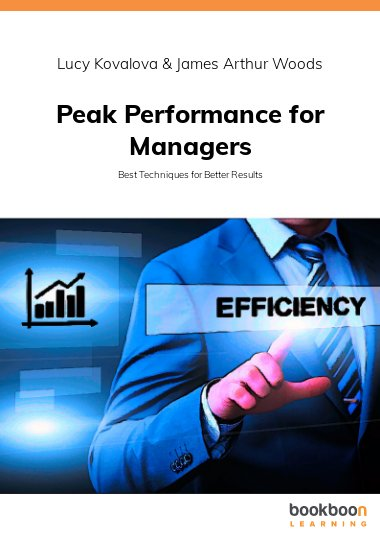 Peak Performance for Managers