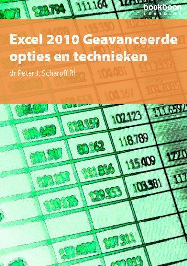 Excel 2010 Geavanceerde opties en technieken