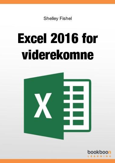 Excel 2016 for viderekomne