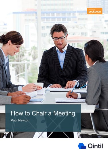 How to Chair a Meeting