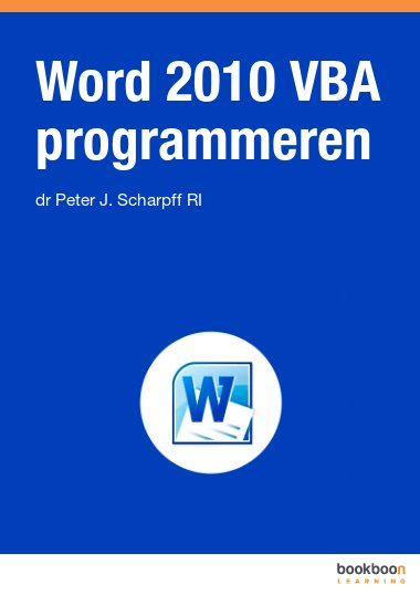 Word 2010 VBA programmeren