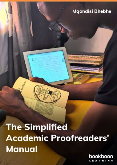 The Simplified Academic Proofreaders' Manual