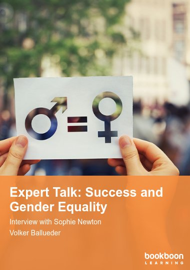 Expert Talk: Success and Gender Equality
