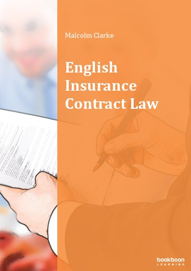 English Insurance Contract Law