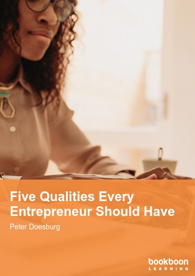 Five Qualities Every Entrepreneur Should Have