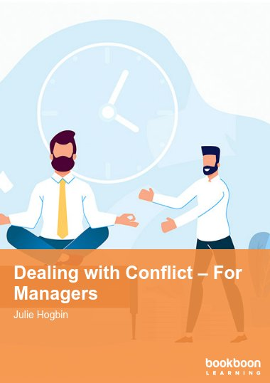Dealing with Conflict – For Managers