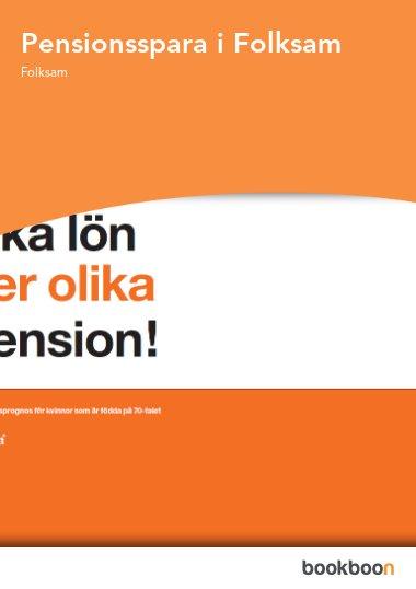 Pensionsspara i Folksam