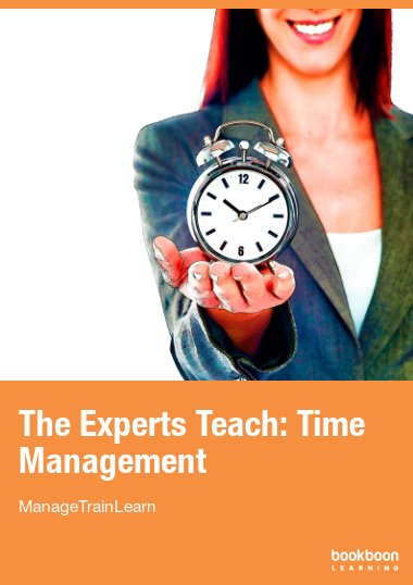 The Experts Teach: Time Management