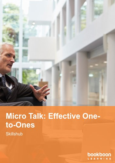 Micro Talk: Effective One-to-Ones