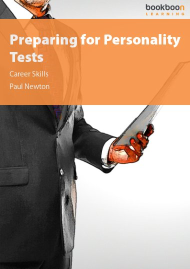 Preparing for Personality Tests