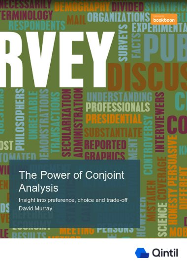 The Power of Conjoint Analysis