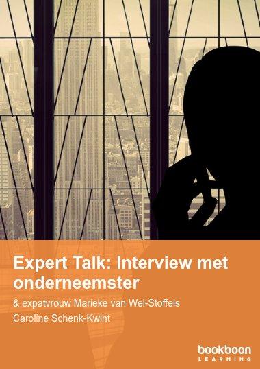 Expert Talk: Interview met onderneemster