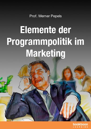 Elemente der Programmpolitik im Marketing