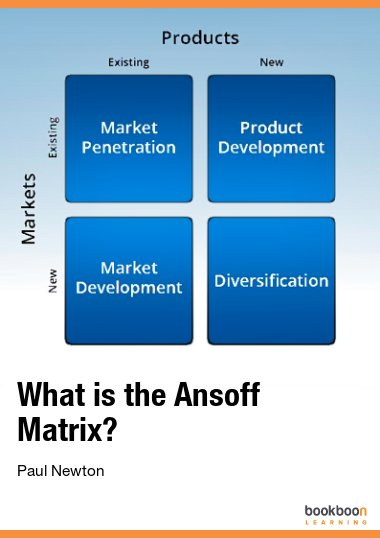 What is the Ansoff Matrix?
