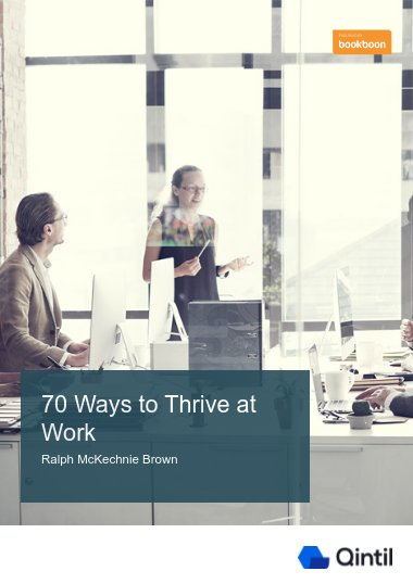 70 Ways to Thrive at Work