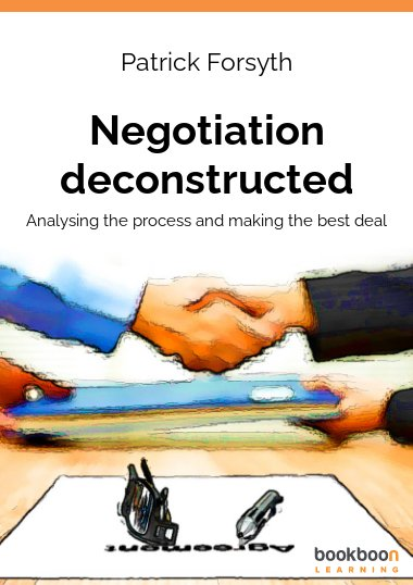 Negotiation deconstructed