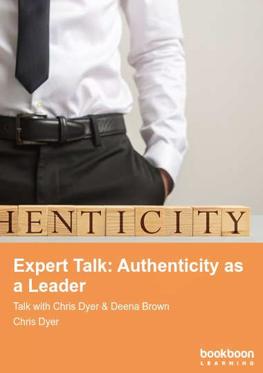 Expert Talk: Authenticity as a Leader