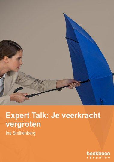 Expert Talk: Je veerkracht vergroten