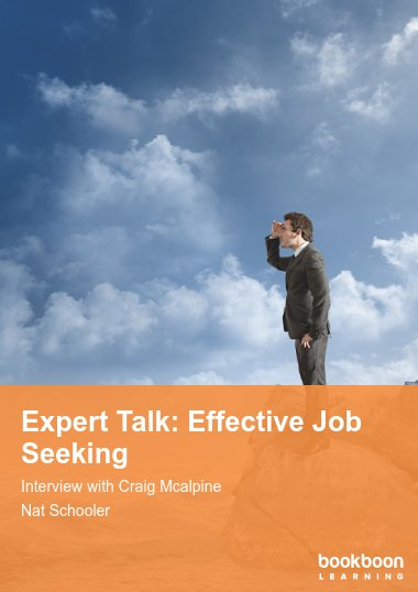 Expert Talk: Effective Job Seeking