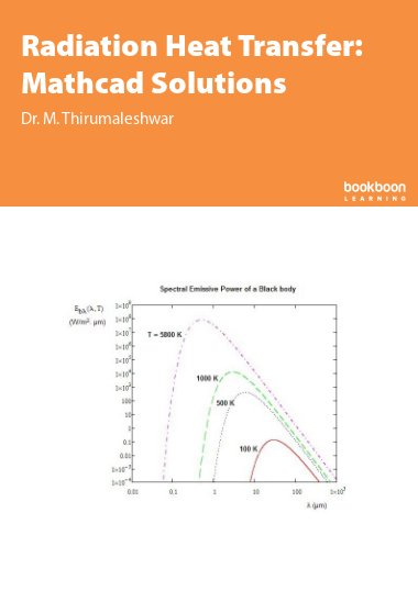 Radiation Heat Transfer: Mathcad Solutions
