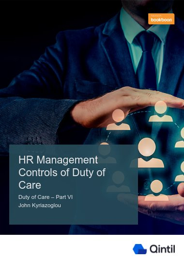 HR Management Controls of Duty of Care