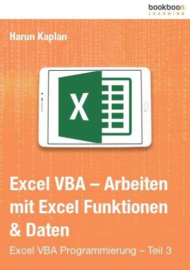 Excel VBA – Arbeiten mit Excel Funktionen & Daten